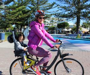 child seats on bikes